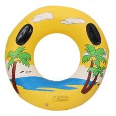Bouée de natation jaune pour adulte