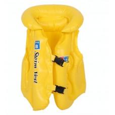 Gilet de natation jaune pour enfant