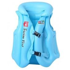 Gilet de natation bleu pour enfant