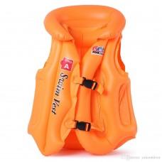 Gilet de natation orange pour enfant