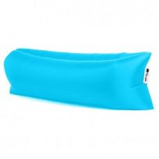 Canapé de repos bleu pour plage